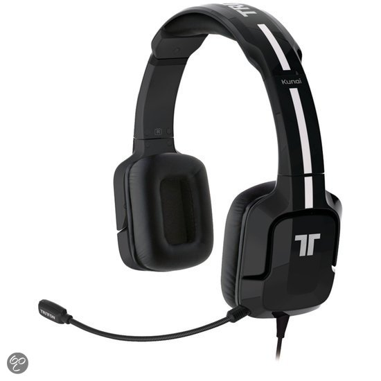 Tritton Kunai Stereo Headset Zwart PS3 + PS Vita