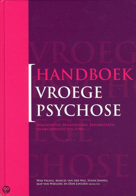 Handboek vroege psychose