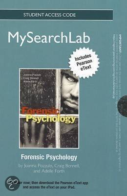 Forensic Psychology check my assignment