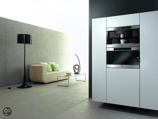 miele inbouw espressoapparaat cva 3660 clst cleansteel elektronica. Black Bedroom Furniture Sets. Home Design Ideas