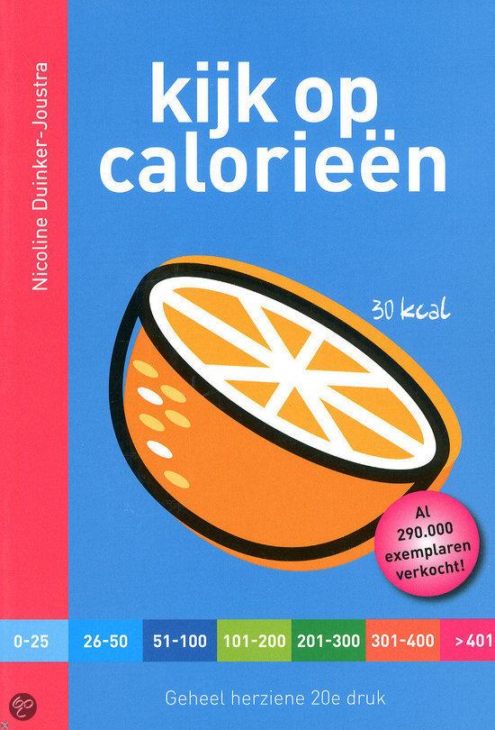 calorieëntabel