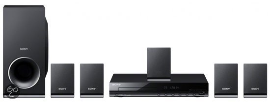 Sony DAV-TZ140 - 5.1 Home cinema set - Zwart