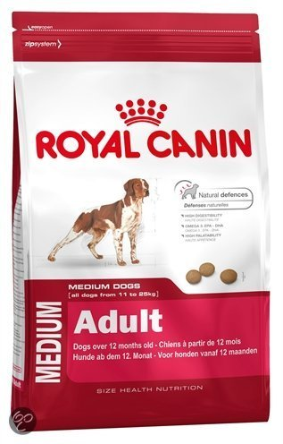 Royal Canin Medium Adult Droogvoer - 15 kg