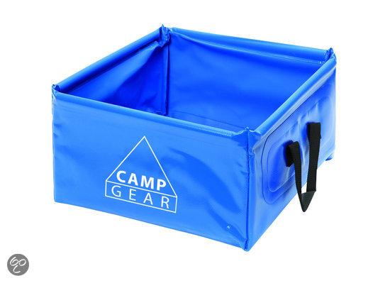 bolcom  Camp Gear  Wasbak  Opvouwbaar  12 liter  Koken en tafelen # Wasbak Geur_200851