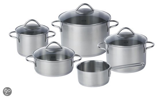 Fissler London 5-delige Kookpannenset