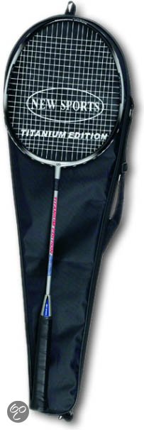 New Sports Badminton Racket met Tas
