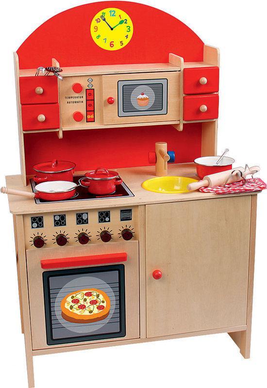 Speelgoed Keuken Tweedehands : Beluga Houten Keuken