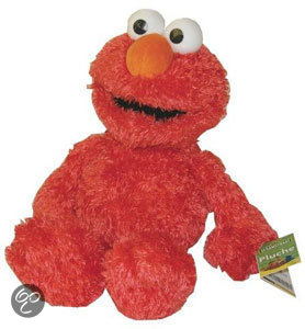 Sesamstraat Knuffel Elmo '28 cm'