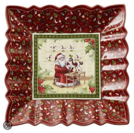 Villeroy & Boch Toy's Fantasy Kerst Schaal -  Rood