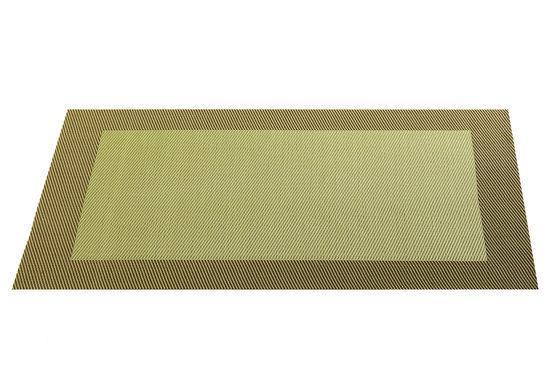 ASA Selection Geweven Rand Placemat -  33 x 46 cm - Olijf
