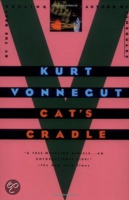 satire in kurt vonneguts cats cradle essay Book review: kurt vonnegut's cat's cradle, god bless you, mr rosewater, and breakfast of champions.
