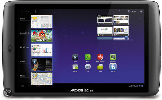 Archos 101 G9 Turbo - 10.1 inch / 16 GB