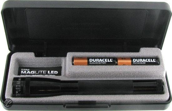 MagLite Mini LED 2 AA Zaklamp - Aluminium - Zwart in Rijswijk