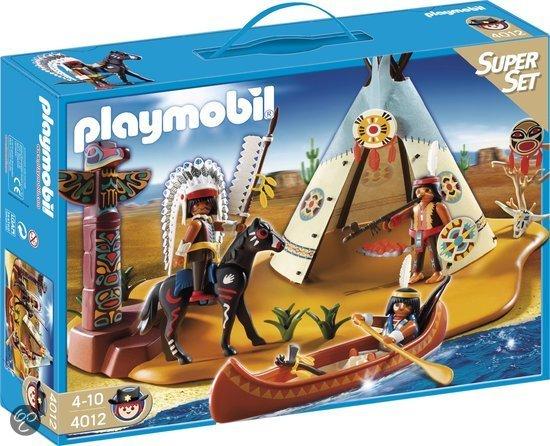 Playmobil Superset Indianenstam - 4012