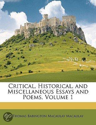 critical essay historical