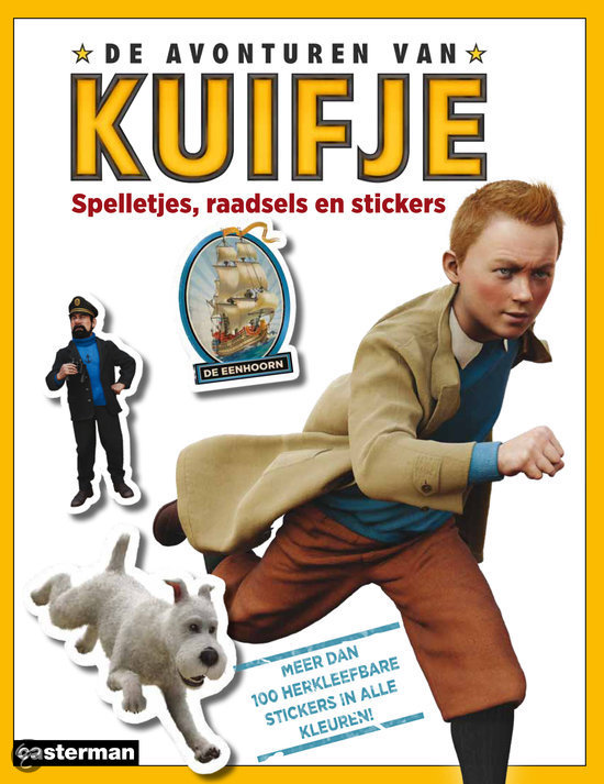 De avonturen van Kuifje / spelletjes, raadsels en stickers