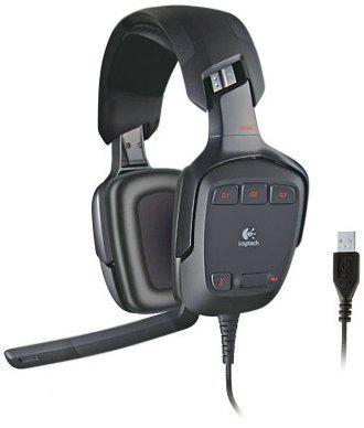 Logitech G35 Gaming Headset Zwart PC