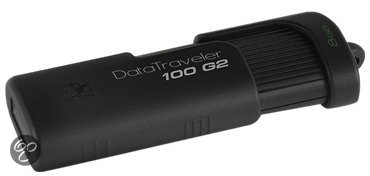 Kingston DataTraveler 100 G2 8GB - Zwart