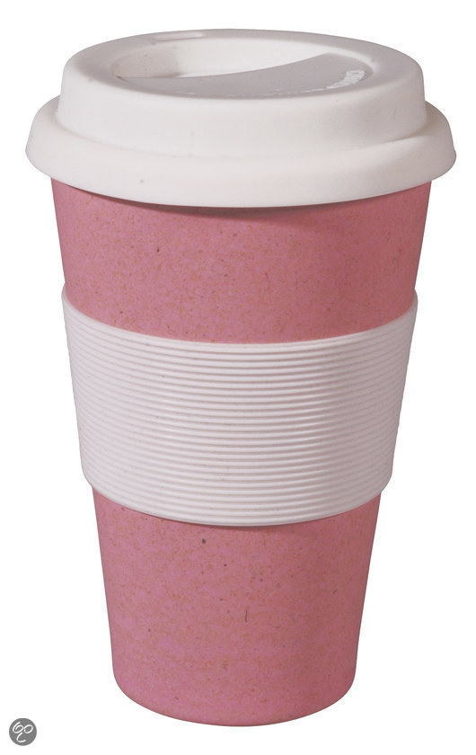 Zuperzozial Cruising Travel Mug - 400 ml - Lollipop Pink