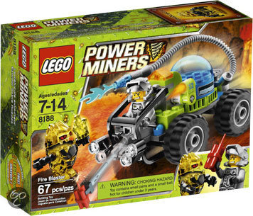 LEGO Power Miners Vuurblazer - 8188