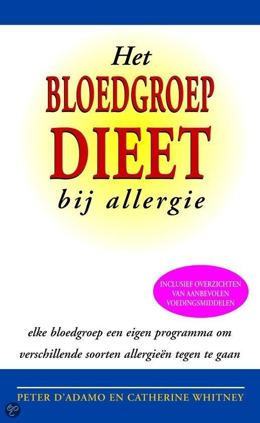 Het Bloedgroep Dieet Bij Allergie