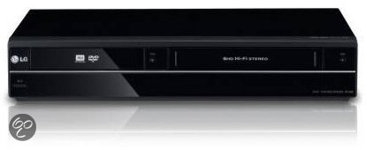 LG RCT689H - Dvd-recorder met VCR
