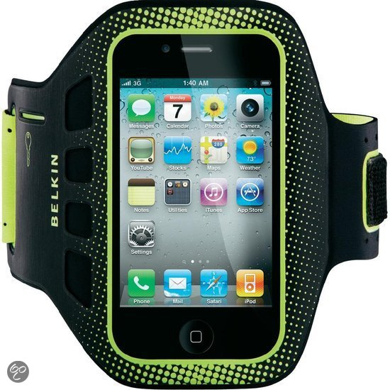Belkin Easyfit sports armband voor Apple iPhone 4/4S