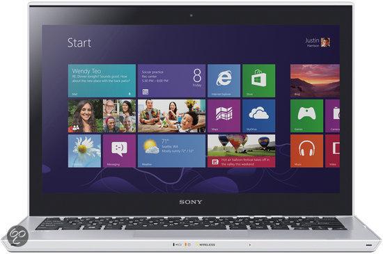 Sony Vaio SVT1312M1ES.NL3 - Ultrabook Touch