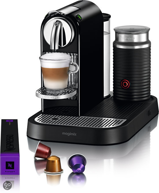 Magimix Nespresso Apparaat Citiz & Milk - Zwart