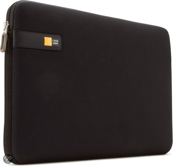 Case Logic laptopsleeve 15.6 inch - Zwart