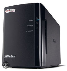 CloudStation Duo\2.0TB\2x 1.0TB HDD\RAID 0-1
