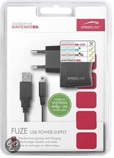 Speedlink Oplader Zwart 3DS + DsiXL