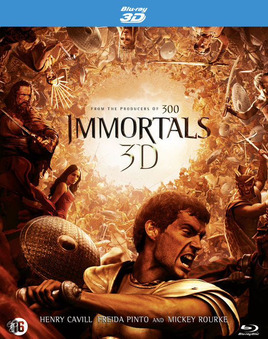 Immortals (3D+2D Blu-ray)