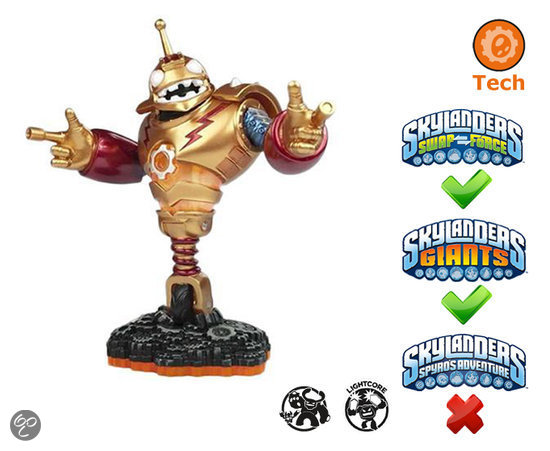 Skylanders Giants Bouncer - Giant Wii + PS3 + Xbox 360 + 3DS + Wii U