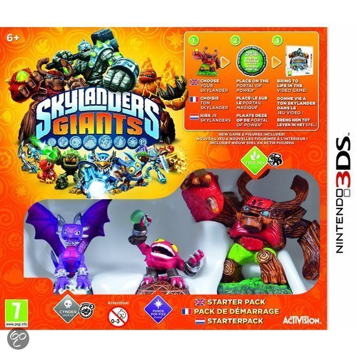 Skylanders: Giants Starter Pack 3DS