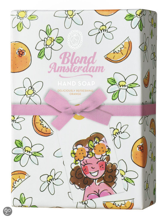 Blond Amsterdam Deliciously Refreshing Orange hand soap