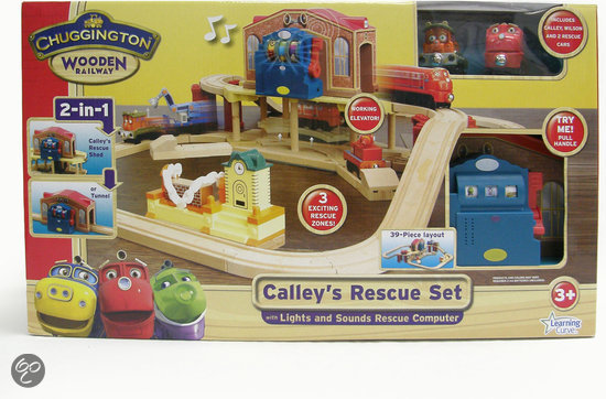 Chuggington Hout - Kelly's Reddings-Speelset