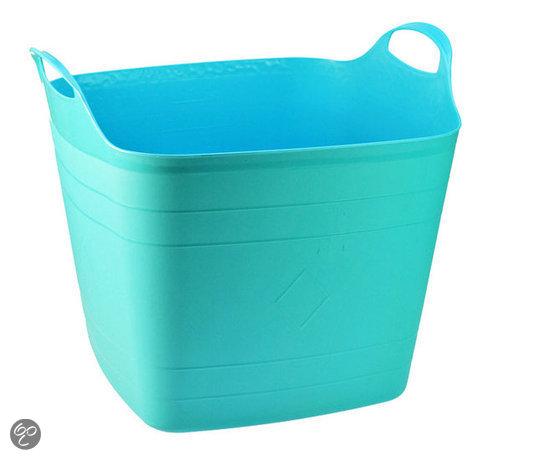 Dsm Keukens Materiaal : bol com DSM Wasmand 27 l Vierkant Blauw Koken en