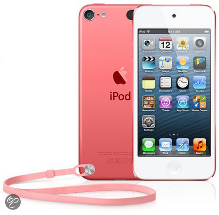 Baladeur Vid�o APPLE IPOD TOUCH5EG ROSE 64GO
