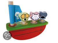 Woezel & Pip - Houten Schommelboot
