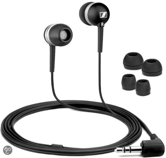 Sennheiser CX300 II - In-ear oordopjes - Zwart