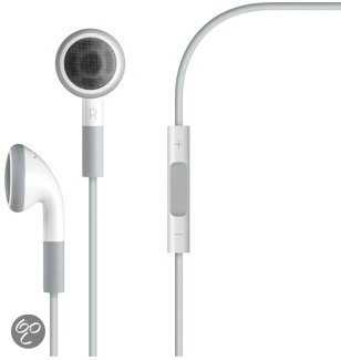 Apple MB770G/B - In-ear koptelefoon - Afstandsbediening en microfoon