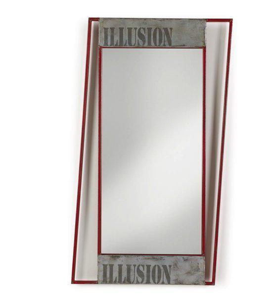 Laforma illusion decoratieve spiegel wonen - Decoratieve spiegel plakken ...