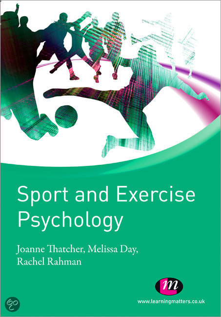 sport exercise pyschology Foreword with increasing interest in and even a fascination with sport psychology and health psychology in academic environments, to the sports world and exercise settings, it.