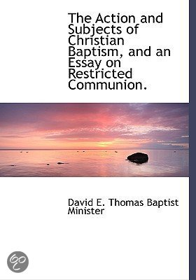 What should i title my essay about baptism as?