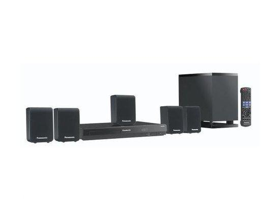 Panasonic SC-XH50EG-K - 5.1 Dvd Home cinema set - Zwart