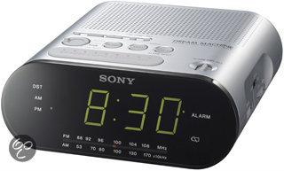 Sony ICF-C218 Klokradio - Zilver