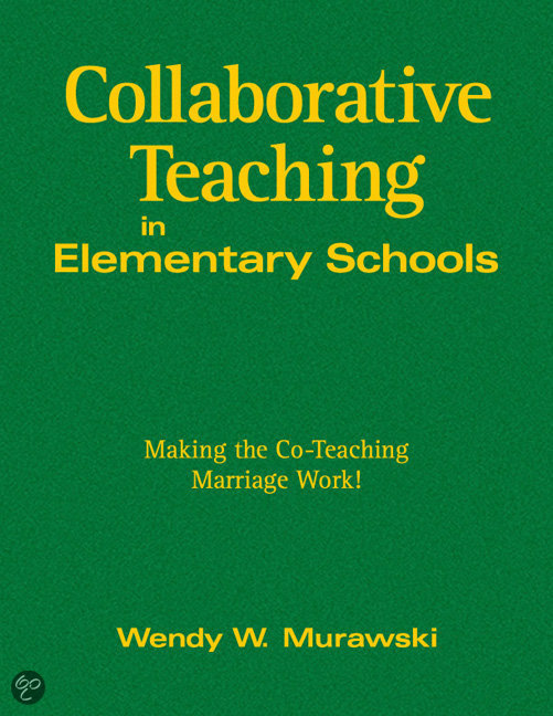 Collaborative Co Teaching : Bol collaborative teaching in elementary schools