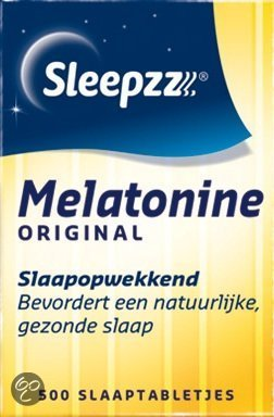 Sleepzz Melatonine Original 0,1 mg  - 500 Tabletten - Voedingssupplementen