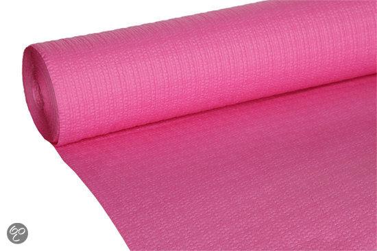 Cosy trendy papieren tafelkleed op rol fuchsia for Tafel papier